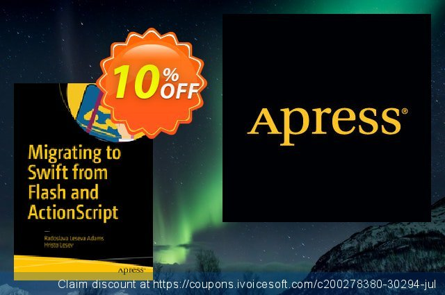Migrating to Swift from Flash and ActionScript (Leseva Adams) discount 10% OFF, 2021 Happy New Year offering sales
