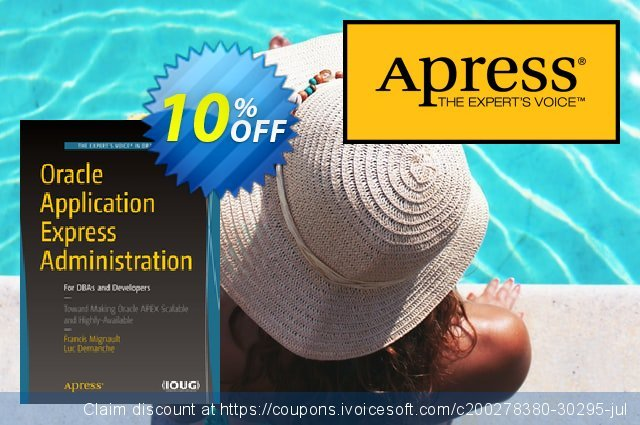 Oracle Application Express Administration (Mignault) discount 10% OFF, 2021 January offering sales