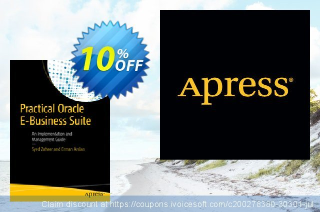 Practical Oracle E-Business Suite (Zaheer) discount 10% OFF, 2021 Happy New Year offering sales