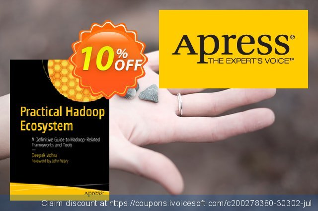 Practical Hadoop Ecosystem (Vohra) discount 10% OFF, 2021 January discounts