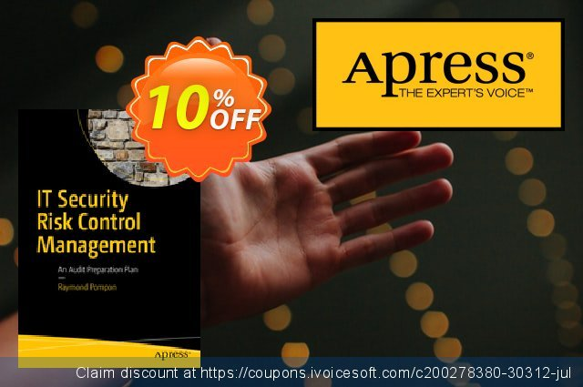 IT Security Risk Control Management (Pompon) discount 10% OFF, 2021 Spring promo