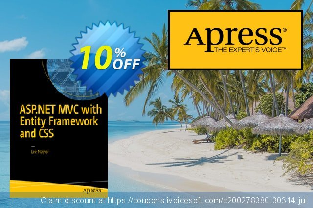 ASP.NET MVC with Entity Framework and CSS (Naylor) discount 10% OFF, 2021 New Year's Day offering sales