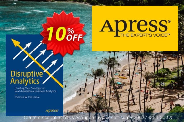 Disruptive Analytics (Dinsmore) discount 10% OFF, 2021 New Year's Weekend offer