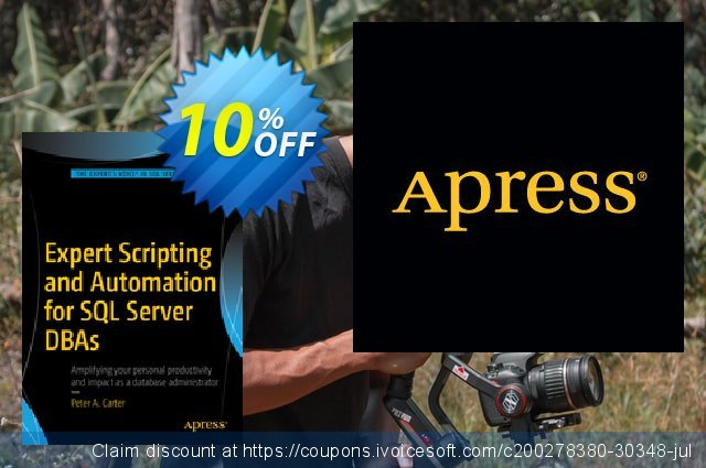 Expert Scripting and Automation for SQL Server DBAs (Carter) 独占 产品交易 软件截图