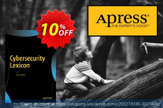 Cybersecurity Lexicon (Ayala) discount 10% OFF, 2021 Spring offering sales
