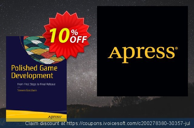 Polished Game Development (Goodwin) discount 10% OFF, 2021 Happy New Year offering sales