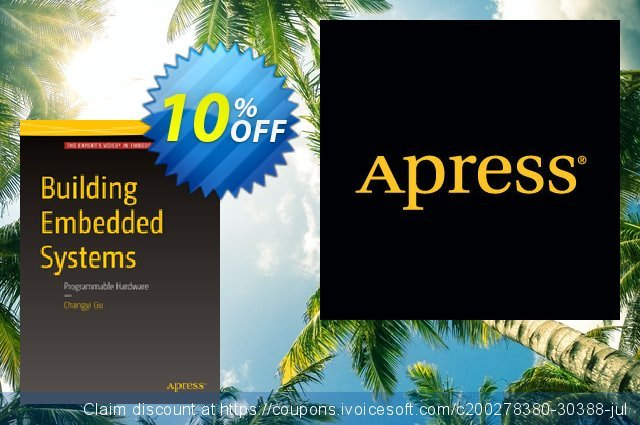 Building Embedded Systems (Gu) discount 10% OFF, 2020 Black Friday promotions