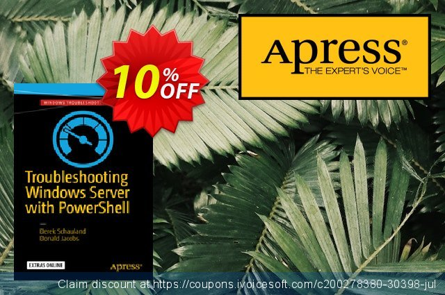Troubleshooting Windows Server with PowerShell (Schauland) discount 10% OFF, 2021 New Year's Day promotions