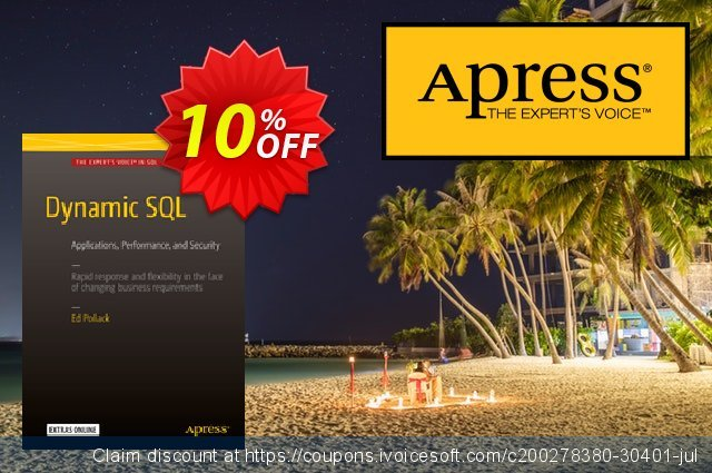 Dynamic SQL (Pollack) discount 10% OFF, 2021 Happy New Year offer