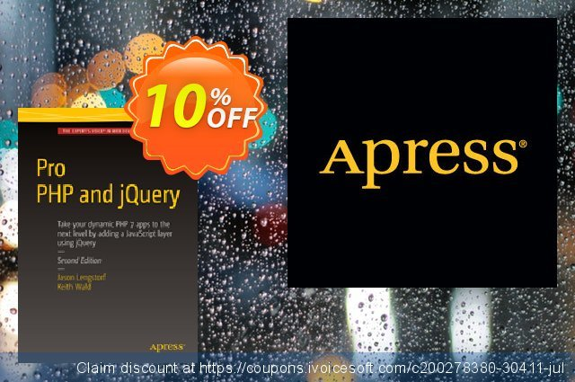 Pro PHP and jQuery (Wald) discount 10% OFF, 2020 Halloween offer