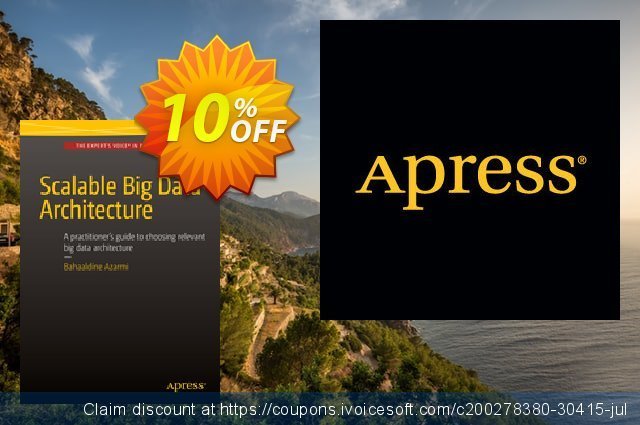 Scalable Big Data Architecture (Azarmi) discount 10% OFF, 2021 Happy New Year offering sales