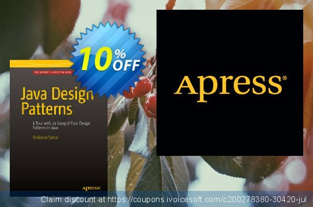 Java Design Patterns (Sarcar) discount 10% OFF, 2021 Happy New Year offer