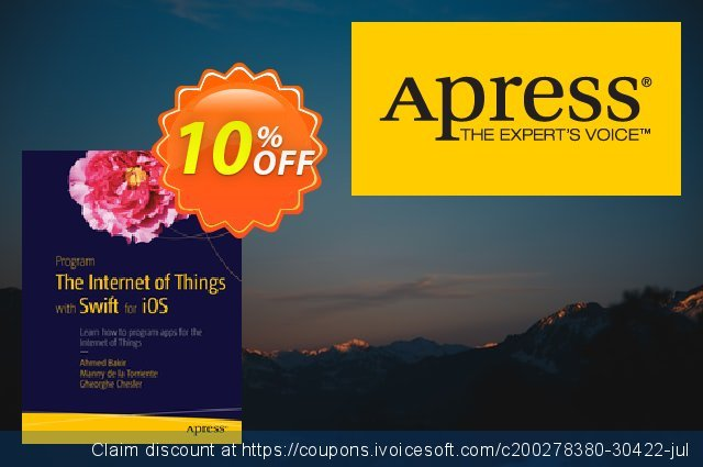 Program the Internet of Things with Swift for iOS (Bakir) discount 10% OFF, 2021 Happy New Year offering discount