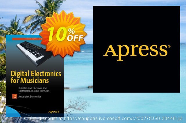 Digital Electronics for Musicians (Drymonitis) discount 10% OFF, 2021 New Year offering sales