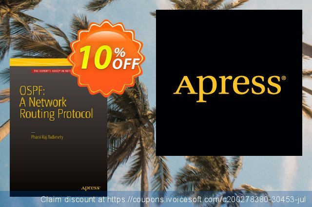 OSPF: A Network Routing Protocol (Tadimety) discount 10% OFF, 2021 New Year offering sales