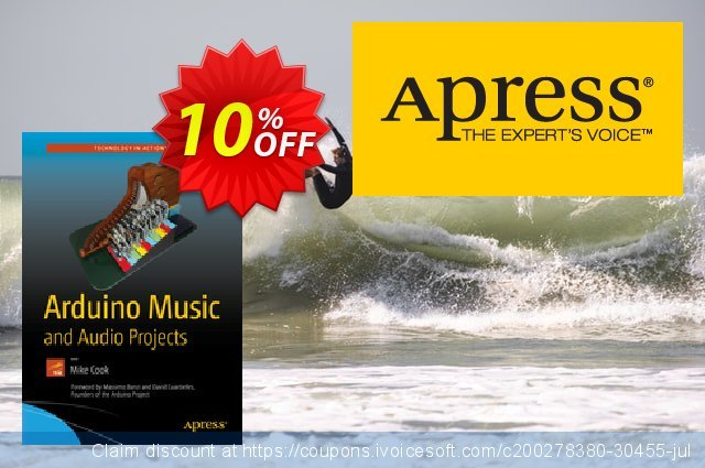 Arduino Music and Audio Projects (Cook) discount 10% OFF, 2021 Happy New Year promotions