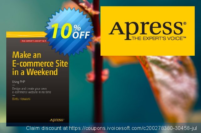 Make an E-commerce Site in a Weekend (Harwani) discount 10% OFF, 2021 New Year's Weekend offer