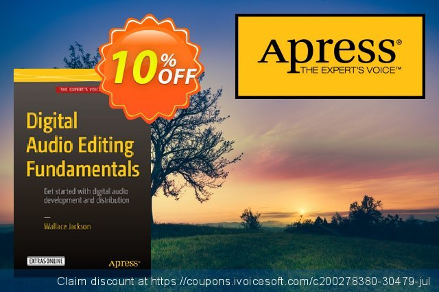 Digital Audio Editing Fundamentals (Jackson) discount 10% OFF, 2021 New Year's Weekend offering discount