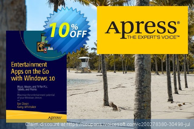 Entertainment Apps on the Go with Windows 10 (Dixon) discount 10% OFF, 2021 January offering discount