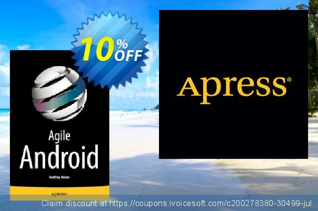 Agile Android (Nolan) discount 10% OFF, 2021 Happy New Year offering sales
