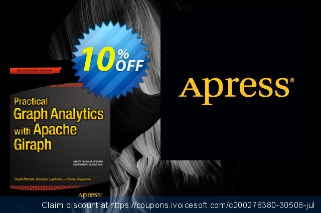 Practical Graph Analytics with Apache Giraph (Shaposhnik) discount 10% OFF, 2021 Spring offering sales