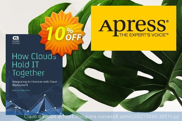How Clouds Hold IT Together (Waschke) discount 10% OFF, 2021 Happy New Year discounts