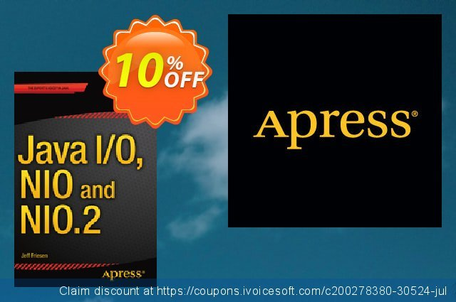 Java I/O, NIO and NIO.2 (Friesen) discount 10% OFF, 2021 Mother Day offering sales. Java I/O, NIO and NIO.2 (Friesen) Deal