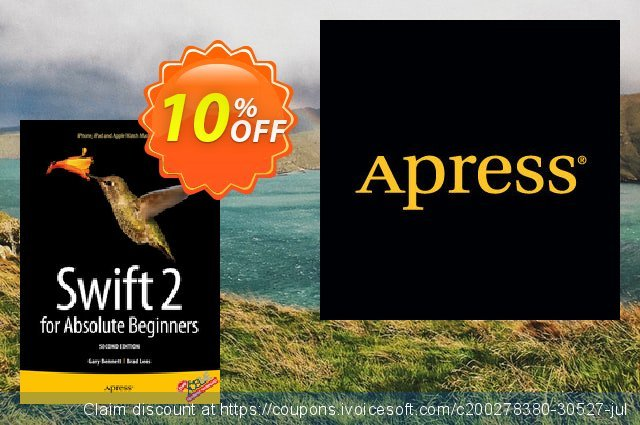 Swift 2 for Absolute Beginners (Bennett) discount 10% OFF, 2021 Happy New Year offering sales