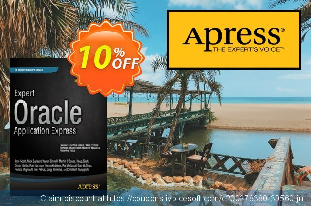 Expert Oracle Application Express (Gault) discount 10% OFF, 2021 Happy New Year offering sales