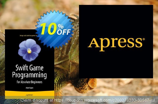 Swift Game Programming for Absolute Beginners (Egges) discount 10% OFF, 2020 Halloween offering deals