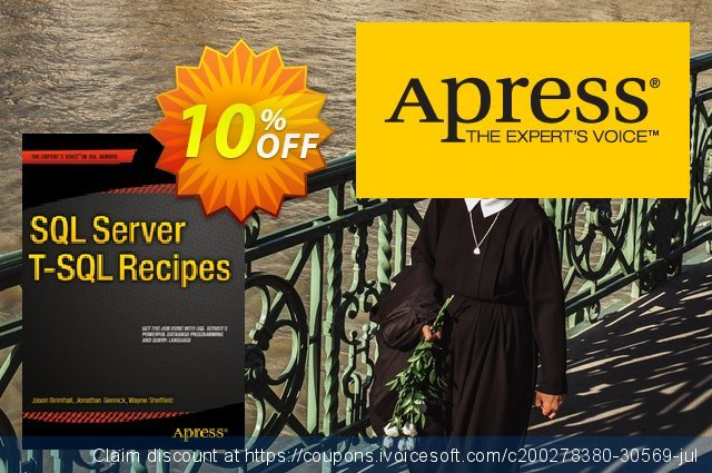 SQL Server T-SQL Recipes (Dye) discount 10% OFF, 2021 Happy New Year promotions