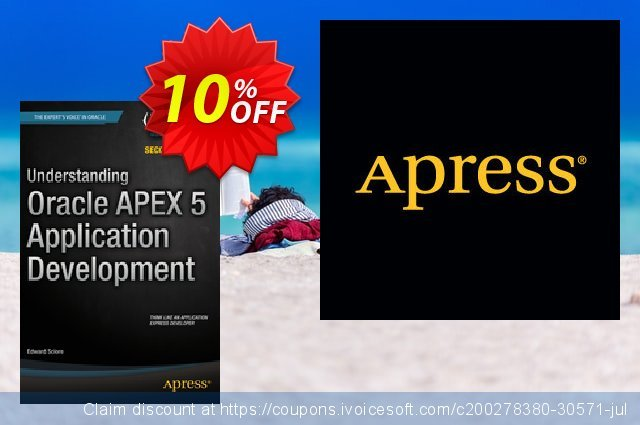 Understanding Oracle APEX 5 Application Development (Sciore) discount 10% OFF, 2021 Spring deals