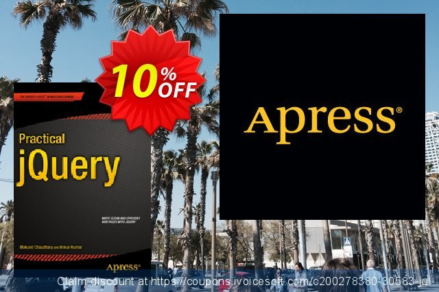 Practical jQuery (Kumar) discount 10% OFF, 2021 Happy New Year offering sales