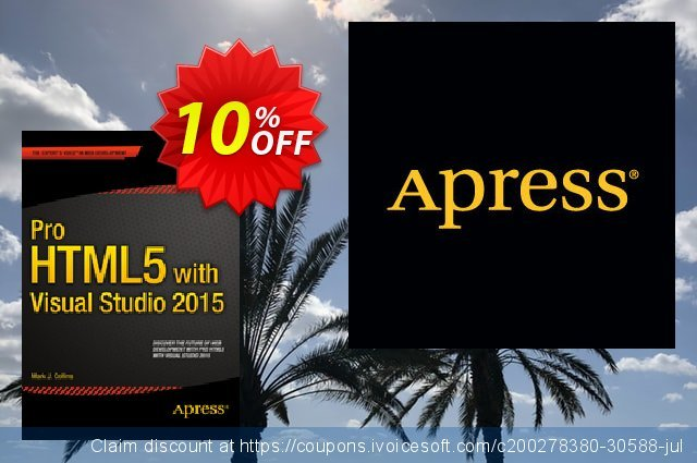 Pro HTML5 with Visual Studio 2015 (Collins) discount 10% OFF, 2021 Happy New Year promotions