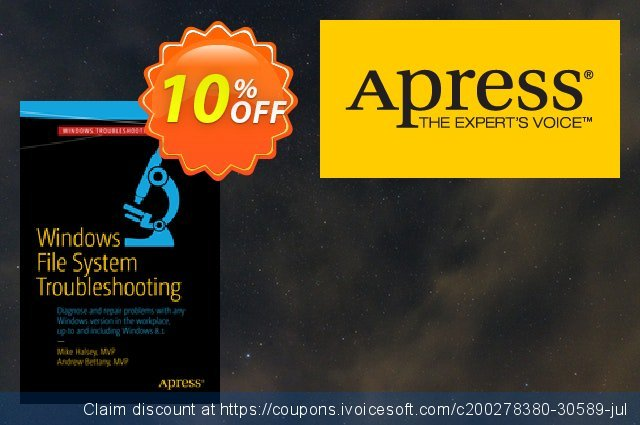 Windows File System Troubleshooting (Bettany) discount 10% OFF, 2021 January sales
