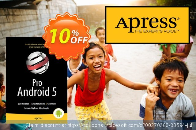 Pro Android 5 (MacLean) discount 10% OFF, 2021 New Year's Day offering sales