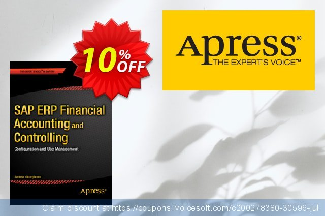 SAP ERP Financial Accounting and Controlling (Okungbowa) discount 10% OFF, 2021 January promo sales