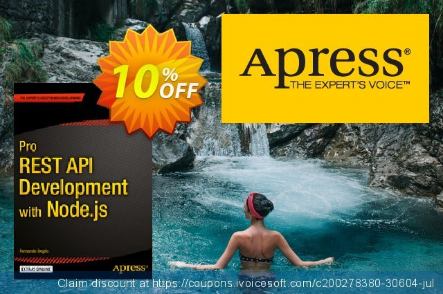 Pro REST API Development with Node.js (Doglio) discount 10% OFF, 2021 Happy New Year offering sales