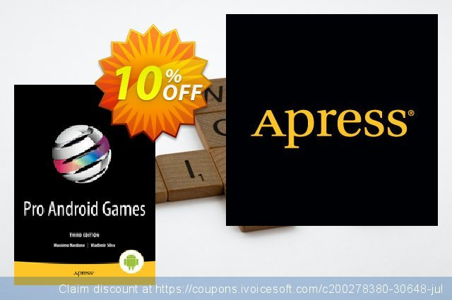 Pro Android Games (Nardone) discount 10% OFF, 2021 Spring offer