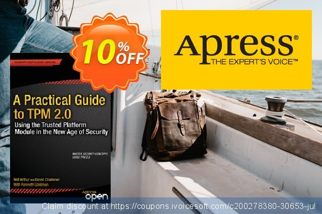 A Practical Guide to TPM 2.0 (Arthur) discount 10% OFF, 2021 Happy New Year promo sales