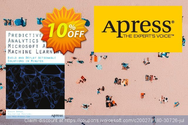 Predictive Analytics with Microsoft Azure Machine Learning (Fontama) discount 10% OFF, 2021 New Year offering discount