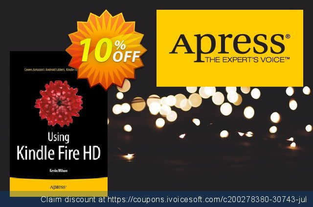 Get 10% OFF Using Kindle Fire HD (Wilson) promo