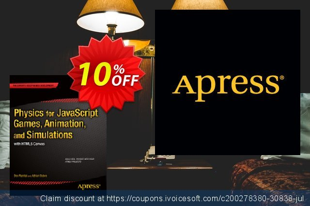 Physics for JavaScript Games, Animation, and Simulations (Dobre) discount 10% OFF, 2020 Halloween offering sales