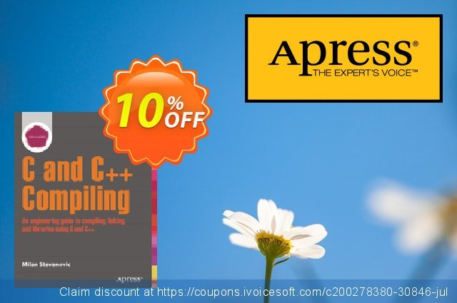 Advanced C and C++ Compiling (Stevanovic) discount 10% OFF, 2020 Halloween sales