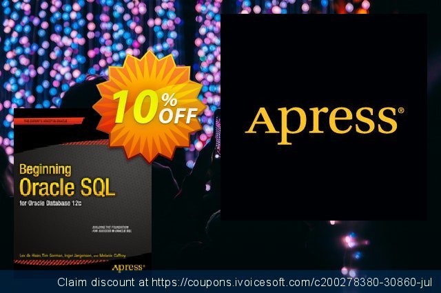 Beginning Oracle SQL (Gorman) discount 10% OFF, 2021 New Year's Day offering sales
