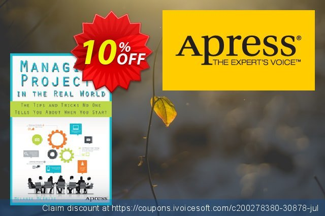 Managing Projects in the Real World (McBride) discount 10% OFF, 2021 New Year's Weekend offering discount
