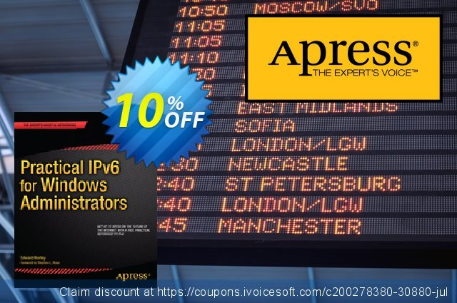 Practical IPv6 for Windows Administrators (Horley) discount 10% OFF, 2020 Halloween offering sales