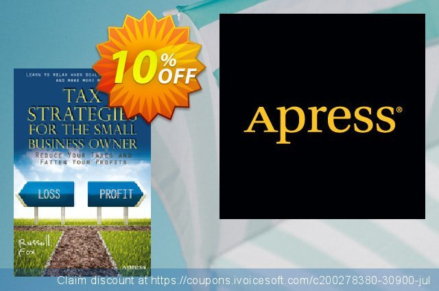 Tax Strategies for the Small Business Owner (Fox) discount 10% OFF, 2021 Spring promo sales