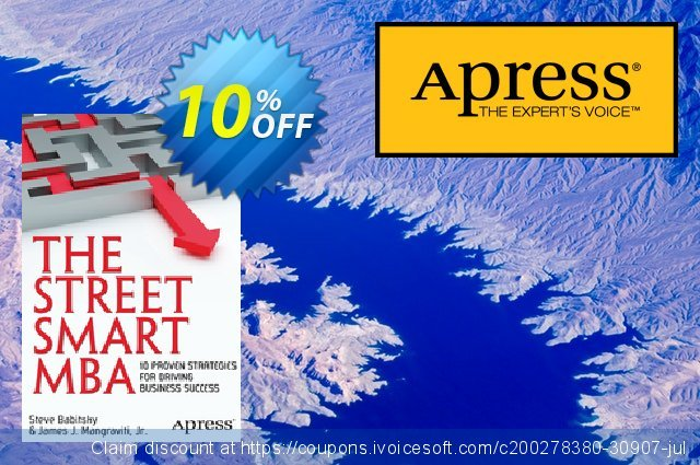 The Street Smart MBA (Mangraviti) discount 10% OFF, 2021 Spring offering sales