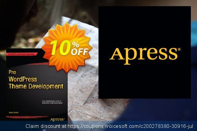 Pro WordPress Theme Development (Onishi) 大的 折扣 软件截图